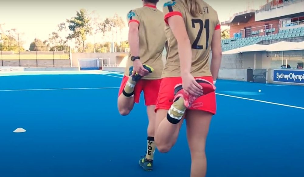 Field Hockey Workout Session: Drills for your Team Warm-up Sessions