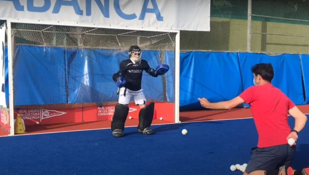 Quickness and Reaction Drill for Field Hockey Goalkeepers