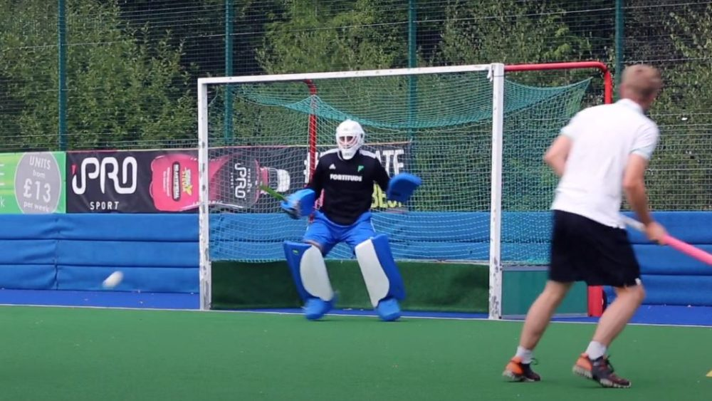 Hockey Goalkeeper Training Drills | ft. Scotland International Sam Lloyd