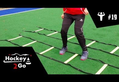Increase your foot speed with these Speed Ladder Drills with Hockey2Go