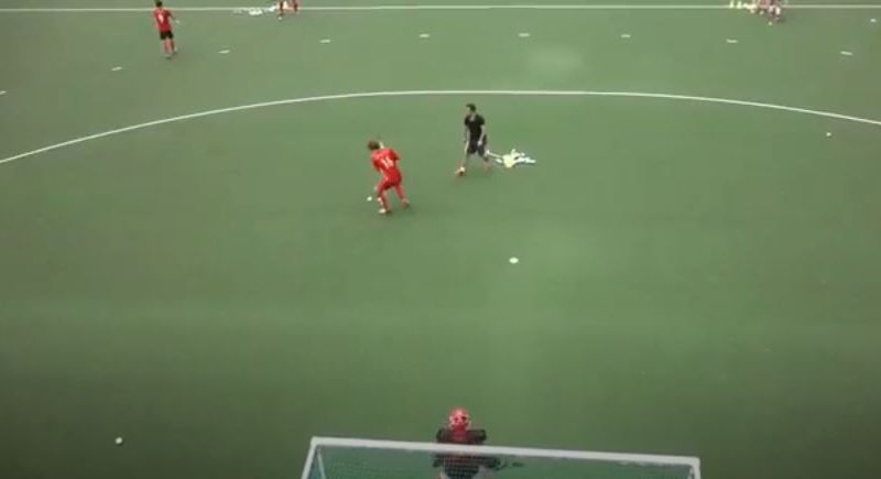 Field Hockey Drill: Quick Double Shooting to Improve Speed and Accuracy