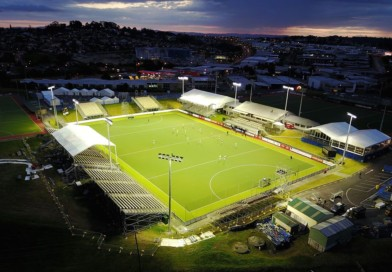 This is the venue of the FIH Hockey World League Women's Final in New Zealand!