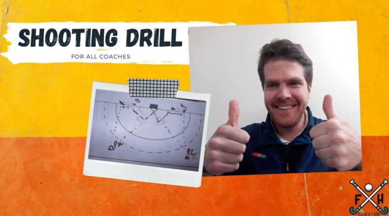 Simple and Efficient Field Hockey Shooting Drill