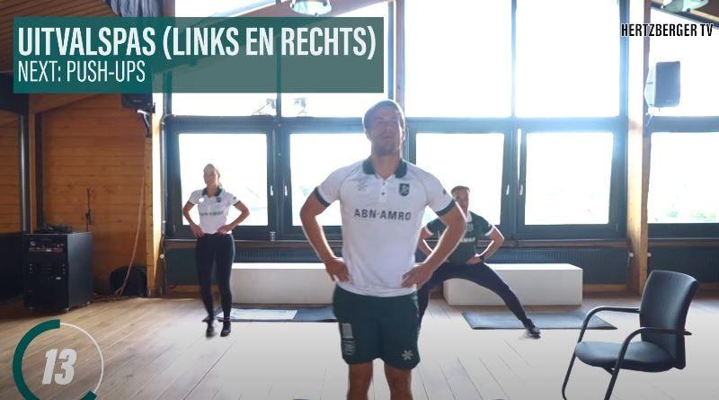 Home Workout with the Dutch Star Jeroen Hertzberger