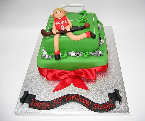 Field Hockey Themed Birthday Cakes