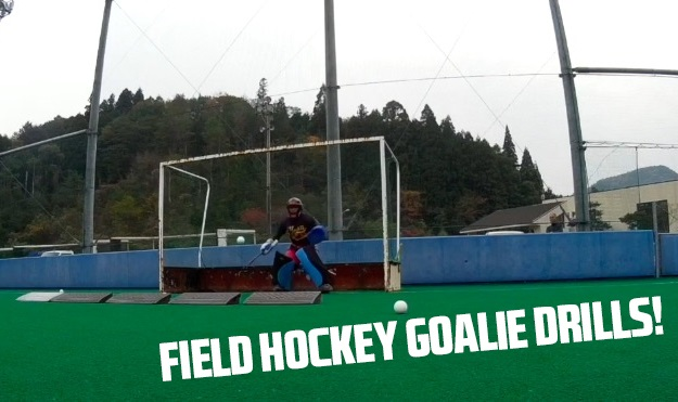 Field hockey goalie drills for every training session!