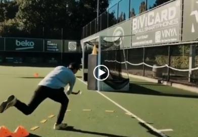 This Hockey Drill Will Help You Scoring From The Base Line!