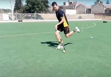 Field Hockey Technique: Left-Hand Dribbling Tutorial