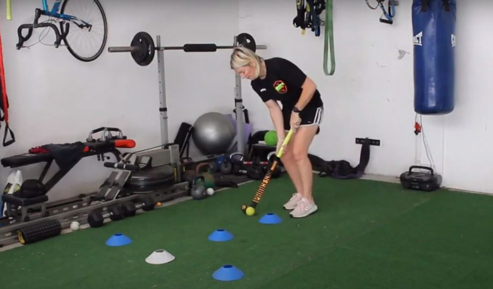 Field Hockey Drill to Improve Ball Control