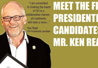 FIH Presidential Election 2016, meet one of the candidates: Mr. Ken Read (Australia)
