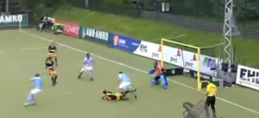 If you were umpiring this game, would you have called it a goal? Is it legal to score this way?