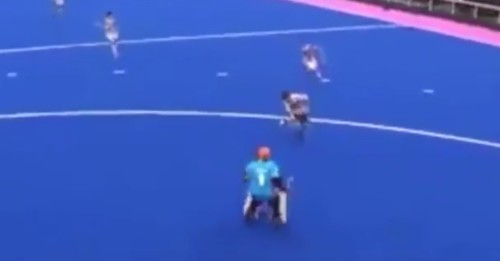 This goal was scored by a 15 year old player and is amazing!