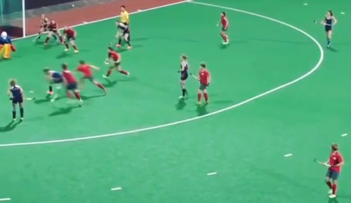 Ellen Hoog truly plays on a different speed…