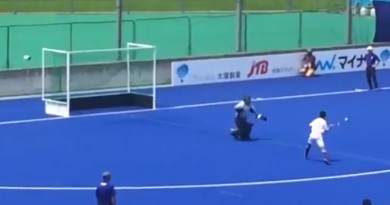 A very courageous way to score a shootout!