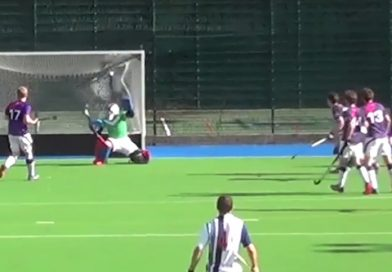 A powerful solo-goal by Kwan Brown for Hampstead & Westminster HC!