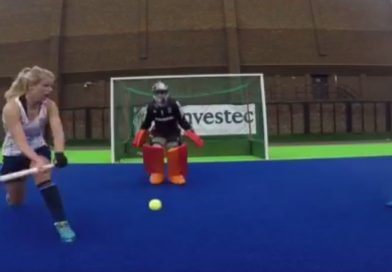 Training with Maddie Hinch: An efficient drill to block deflections and rebounds