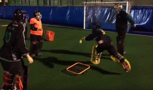 A rebound & reaction Crazy Catch drill to do!