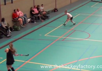 Indoor passing drill with Dutch International Player Timmo Kranstauber for The Hockey Factory