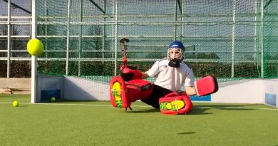 Seated goalkeeping training: A drill to improve your movement
