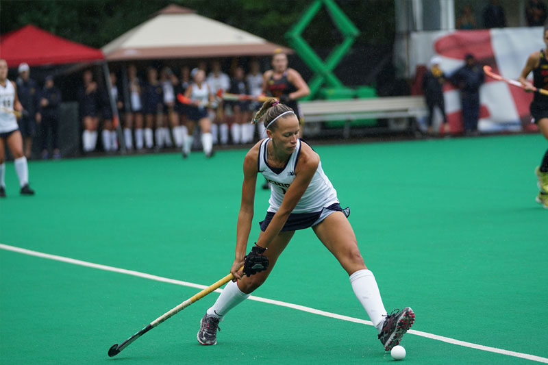 Can field hockey ever compete with ice hockey in North America?