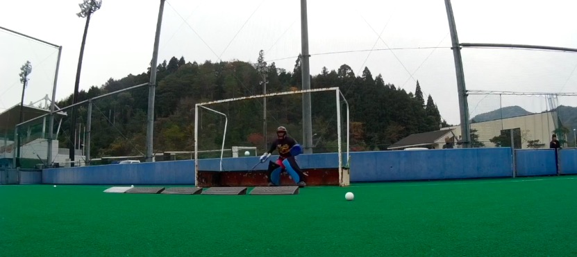 field hockey goalie drills