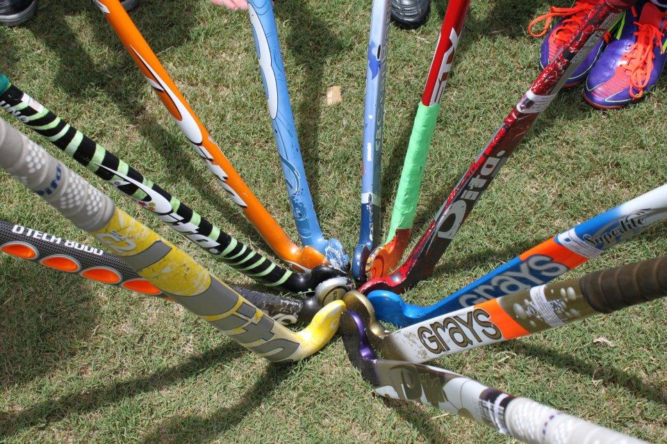field hockey sticks