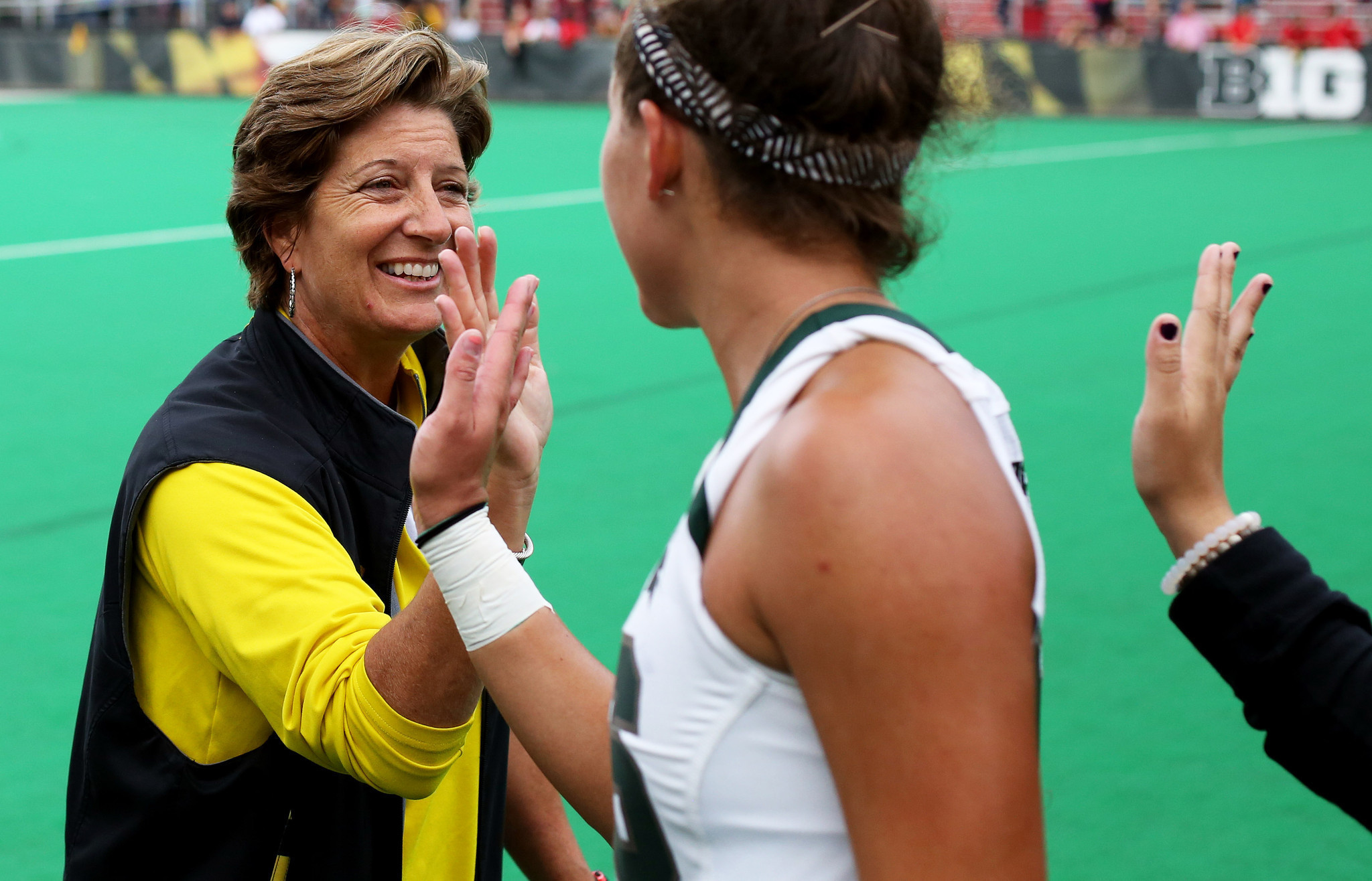 field hockey coach Missy Meharg