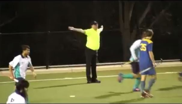 The most artistic umpire ever! You will love this ref!