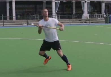 Improve your high ball receiveing skills with this short video with an Olympic Hockey Medallist!