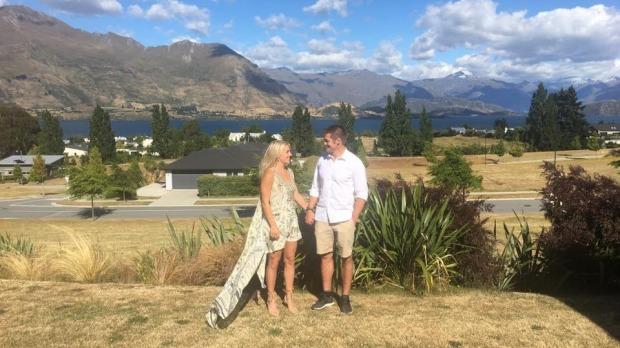 Gemma Flynn and Richie McCaw