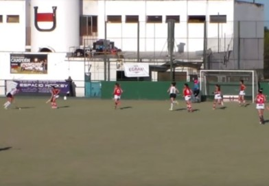 A mid-air change of direction that led to a rocket-like backhand shot and one amazing goal!