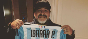 Did you know that Maradona was a huge Argentine hockey fan?