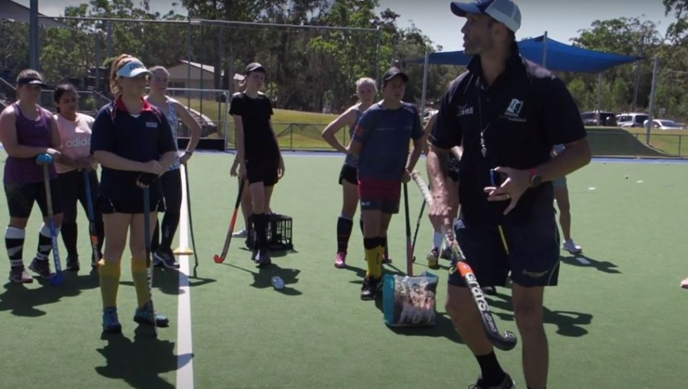Mark Knowles and Jodie Kenny's Masterclass on the Hockey Shoot Out