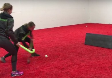 1-on-1 against a rebound board: Improve your eye-hand coordination while having fun!