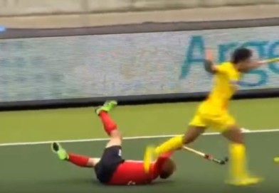 This is a video on really bad tackling! Some of these ended in green and yellow cards…