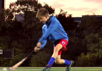 This young player was inspired by Jamie Dwyer, and he will inspire you!