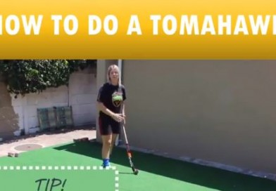 Watch this 1 minute video and improve your backhand shot!