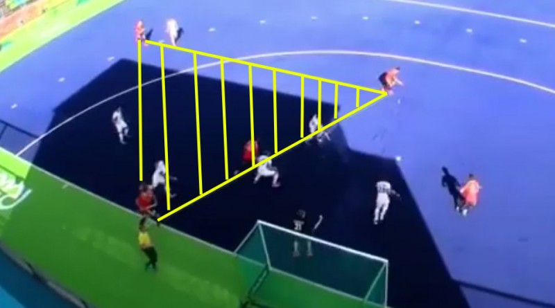 "This video analysis will show you why ""hockey is a game of triangles"""