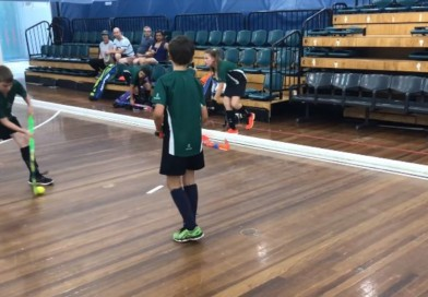 """Board ball"": A drill to teach kids to pass the ball and move around while using the boards"